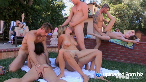 Alexis Adams Summer Orgy Neighbors In The Backyard FullHD 1080p
