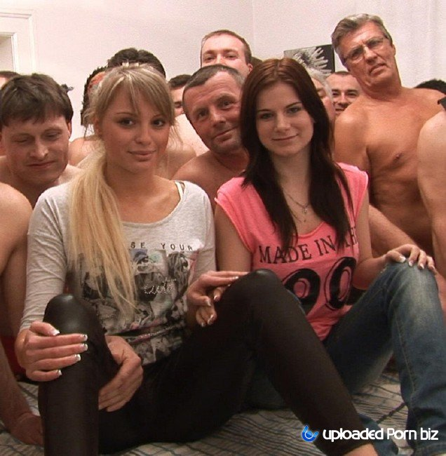 Veronika and Charlotte Orgy Creampie With Two Young Girls HD 720p
