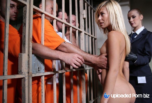 Lola Reve and Alexis Crystal Group Sex In Jail FullHD 1080p