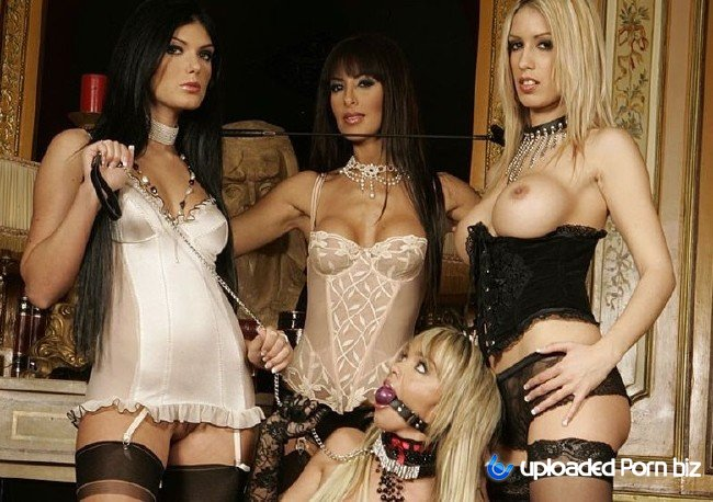 Lea Lazure, Yasmine, Virginie Caprice Hardcore Orgy All Ways and First Double Penetration FullHD 1080p