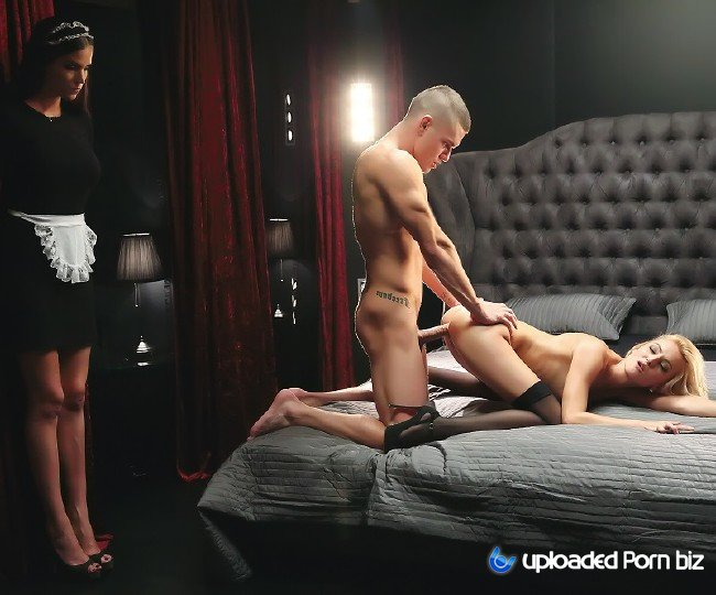 Katy Rose Maid Watches Sex FullHD 1080p